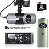 """Best inDigi Dvr Cameras - Indigi ® 2.7 """"LCD Caméra double de voiture Review"""