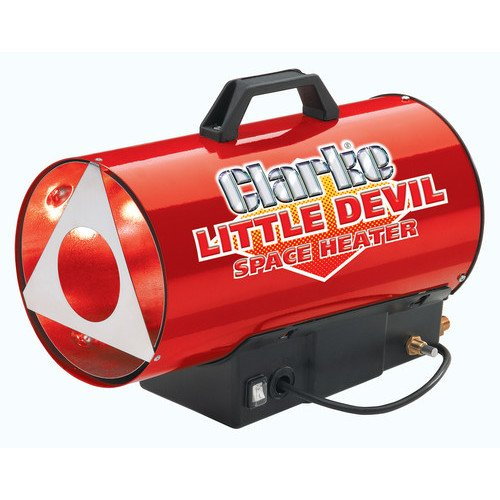 SPACE HEATER CLARKE LITTLE DEVIL PROPANE 230v 10.25kW