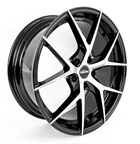 Seitronic® RP5 Alufelge | Exclusiv Design | Machined Face Glossy Black 8J 5x112-ET45-57,1 (19 Zoll)