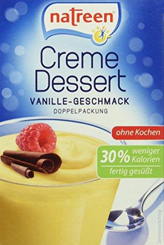 natreen Creme Dessert Vanille-Geschmack, 14er Pack (14 x 35g)