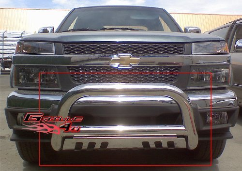 aps-bb-cak002s-chrome-bull-bar-bolt-over-for-select-chevrolet-silverado-1500-models-by-aps