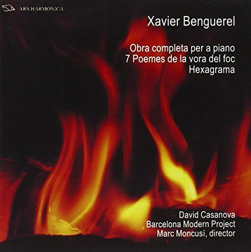 Complete Works for Piano, Hexagrama, 7 Poems... by Casanova/Barcelona Modern Project
