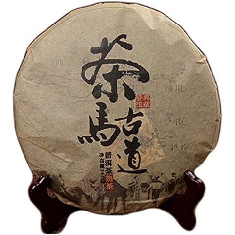 SaySure - 357g puer tea yunnan cooked puerh cake tea pu er