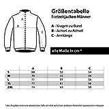 Männer und Herren Freizeitjacke Ostdeutschland Simsonland (mit Rückendruck) Größe S - 10XL