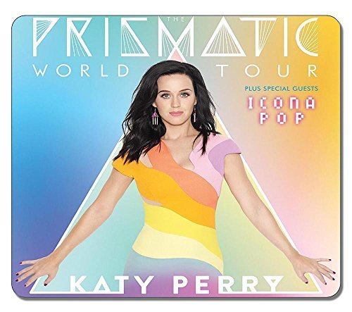General Katy Perry Prismatic World Tour Water Resistent Gaming Mouse Pad Large Mousepad Gaming Pad Large Mouse Pads