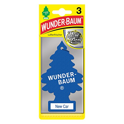 Wunderbaum 171214 New Car, 3-er Pack