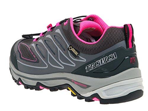 Tecnica - Scirocco ld low gtx gris - Chaussures marche randonnées Gris Anthracite foncé