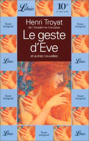 Le geste d'ÁEve : Et autres nouvelles