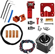 LHQ-HQ 3D Printer Accessories 3 Extruder CR-10 Extruder 42 Stepper Upgraded Motor Kit Aluminum 3D Printer Extruders Spring D