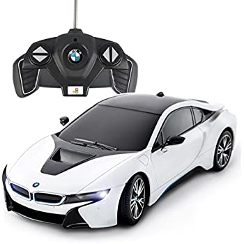 Playtech Logic PTL® RC Cars: BMW I8 Remote Control Car For Kids, 1