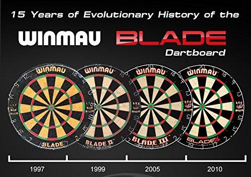 Winmau Steeldartboard Blade IV, beige/schwarz, 3006 - 9