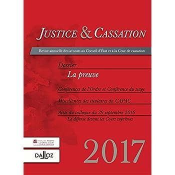 Justice et cassation 2017