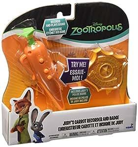 Rocco Giocattoli L70111 - Zootropolis, Badge e Carota con Suoni