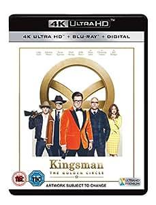 Kingsman: The Golden Circle [Blu-ray 4K +  Blu-ray + UV Copy] [2017]