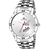 #4: Eddy Hager White Day and Date Men's Watch EH-210-WH