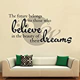 Believe In Your Dreams Wall Sticker Deca...