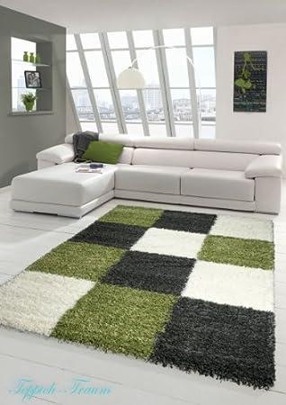 Shaggy Teppich Hochflor Langflor Teppich Wohnzimmer Teppich ...