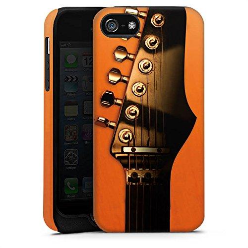 Apple iPhone X Silikon Hülle Case Schutzhülle Gitarre Saiten Instrument Tough Case matt