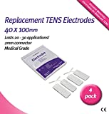 Bodyclock Health Care Ltd - Self Adhesive Electrodes 40X100Mm (Pk4)