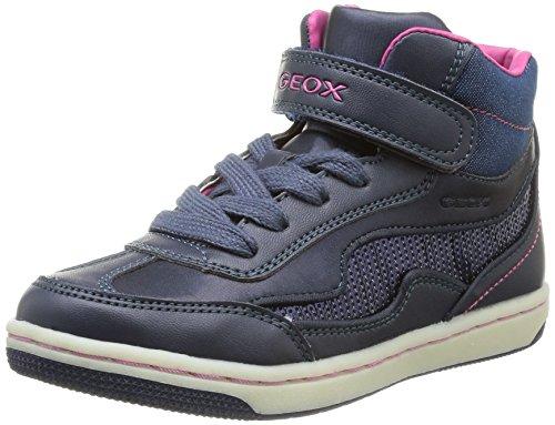 Geox Jr Creamy Mädchen Sneaker Blau (Bleu (Navy))