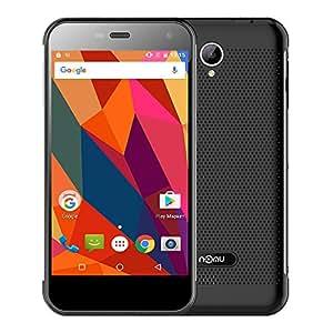 "NOMU S20-IP68 Smartphone Tri-Proof 4G Android 6.0 ( MTK6737T Quad Core 1.5GHz 64bit 3GB+32GB, 5.0"" IPS Screen 1280*720px, 13MP Camera 3000mAh HiFi Ultra Thin Impermeabile )"