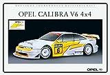 Schatzmix Opel Calibra V6 4x4 Tourenwagen Auto blechschild