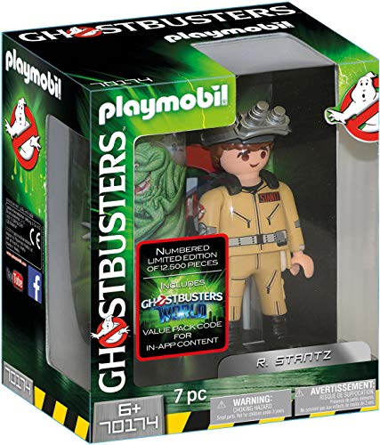 Playmobil- Ghostbusters Figura Coleccionable R. Stantz