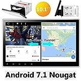 """Eincar 10.1"""" Die neueste Android 7.1 Quad-Core-Doppel-DIN-Autoradio 2G 16G GPS Navigation im Schlag-Auto-DVD-Spieler mit Bluetooth WIFI 4G kapazitiver Touchscreen Unterstützung AM / FM-Rückkamera Subwoofer mit Split-Screen-Modus"""