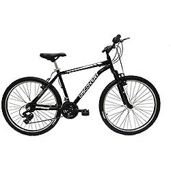 """Discovery DP073 - Bicicleta Montaña Mountainbike 26"""" B.T.T. cuadro de aluminio, cambio Shimano TX30, 21 velocidades, con amortiguación - para hombre"""