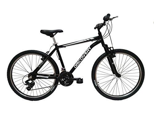 Discovery DP073 - Bicicleta Montaña Mountainbike 26' B.T.T. cuadro de aluminio, cambio Shimano TX30, 21 velocidades, con amortiguación - para hombre