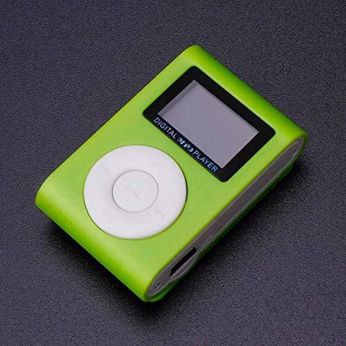 OSYARD MP3 Player,Musik Player,Mini USB Clip MP3-Player mit LCD Bildschirm Unterstützung 32 GB Micro SD TF-Karte,Tragbare Touch-Taste Leichtgewicht Sport,Joggen,Wandern oder Camping Musik Player