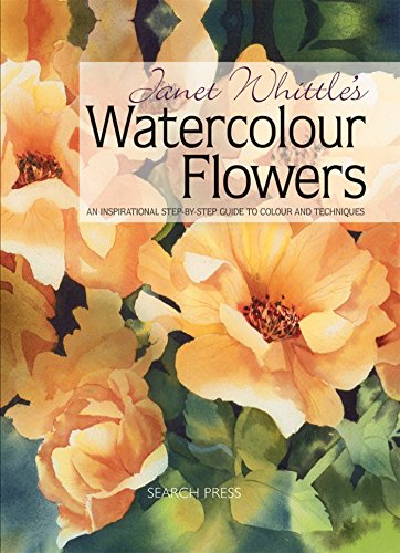 Janet Whittle's Watercolour Flowers Cover Image