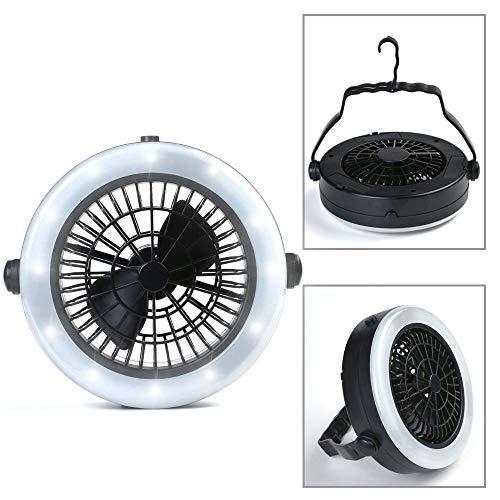 ODOLAND Ventilator LED Laterne, 2-in-1 Fan Camping Lamp… | 00713382745031