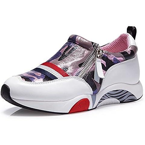 autunno maree Scarpe Camo/Versione coreana flussi aumentato di scarpe casual/