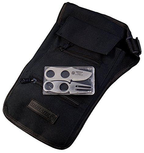 SIMBATEC Sicherheits-Brustbeutel Body Safe - das ORIGINAL - Lange Ausführung Plus Card-Cutlery GRATIS dazu!