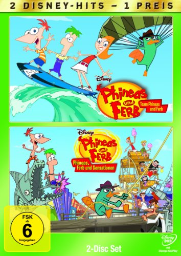 Team Phineas und Ferb/Phineas, Ferb und Sensationen (2 DVDs)