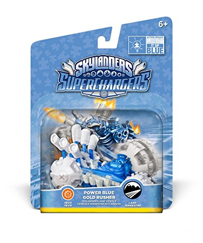 Skylanders: SuperChargers – Gold Rusher Blue Deco (Vehicle) 515TgyctA 2BL