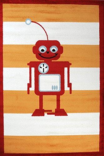 Kinderteppich Roboter