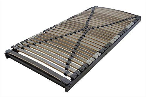 Betten-ABC Lattenrost XXL - Extra Stabil Max1, Verschiedene Ausführungen, belastbar bis zu 280 kg - Grösse XXXL Starr (bis 280 kg) - Härtegrad 90 x 200 cm