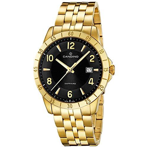 Candino UC4515/5–Uhr für Männer Gold
