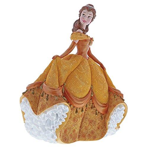 Disney Figurina de Bella, Resina, Multicolor, 16.5 x 12.7 x 20.3 cm