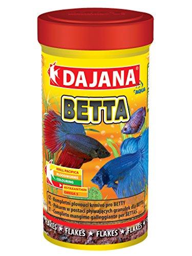 Dajana Betta-Futtermittel Spezial in Schleifen für Betta und Süßwasser Fische -