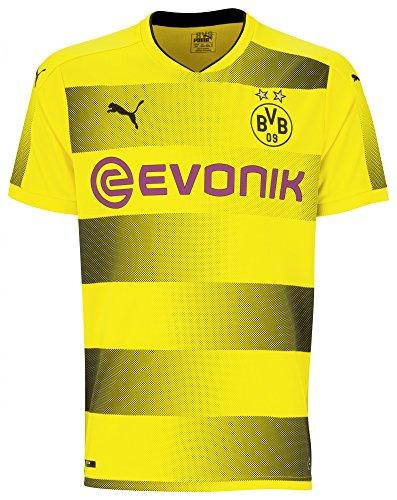 Puma BVB 09 Borussia Dortmund Home Trikot 17/18 (gelb/schwarz, L)