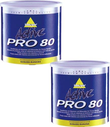 Inko ACTIVE Proteinshake Pro 80 , (2 x 750g = 1,5kg), schoko