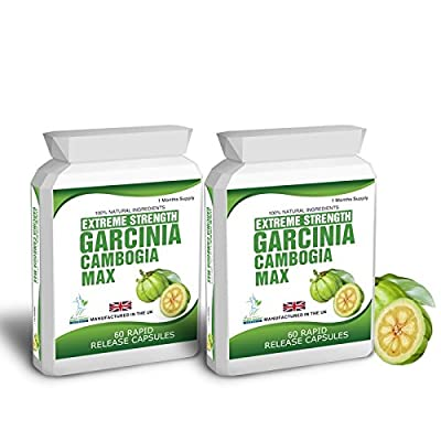 Garcinia Cambogia Clean Pure Detox 120 Capsules 1500mg Daily Dose Bioslim Dieting and Weight Loss Tips Free Fast Delivery 1-2 Days
