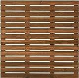 Dalle de terrasse en bois First teinté motif droit 100