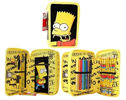 Simpsons astuccio, yellow (giallo) - sr71976
