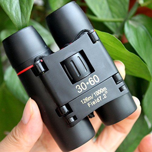 EMOTREE Binocular 30x60 Zoom Reisen Camping Outdoor Teleskop Fernrohr Spektiv Spiel Fernglas Telescope