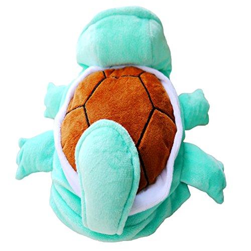 UEETEK Pet Schildkröte Kostüm Kleidung Welpen Hund Katze Cosplay Outfit Partykleid Kleidung Größe XL (blau)