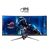 Asus ROG SWIFT PG348Q 86,7cm (34 Zoll) Curved Gaming Monitor (UWQHD, DisplayPort, HDMI, USB 3.0, 5ms Reaktionszeit, G-Sync), Farbe: Plasma Copper + Armor Titanium